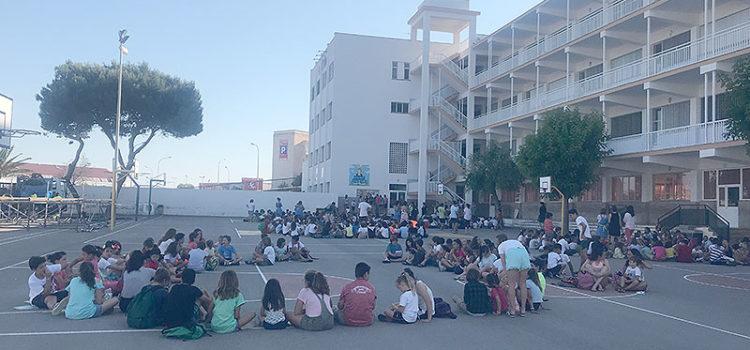 Festa dels apadrinaments en el col·legi La Salle de Maó