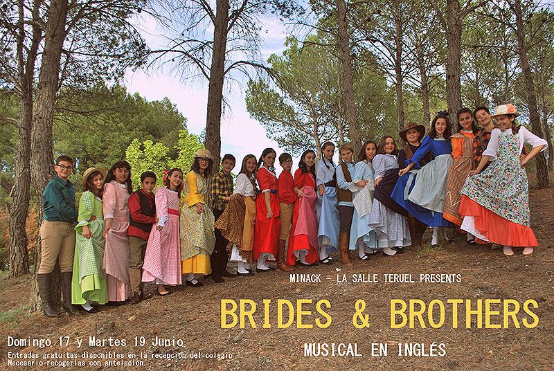 """La compañía de teatro en inglés del colegio La Salle de Teruel estrenó el musical """"Brides and Brothers"""""""