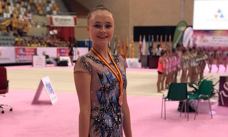 Enhorabuena a Georgia Mei Warren, antigua alumna del colegio La Salle Maó,  por su medalla de bronce en gimnasia rítmica