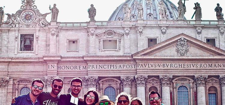 Encuentro de Jóvenes Lasalianos de la Relem en Roma