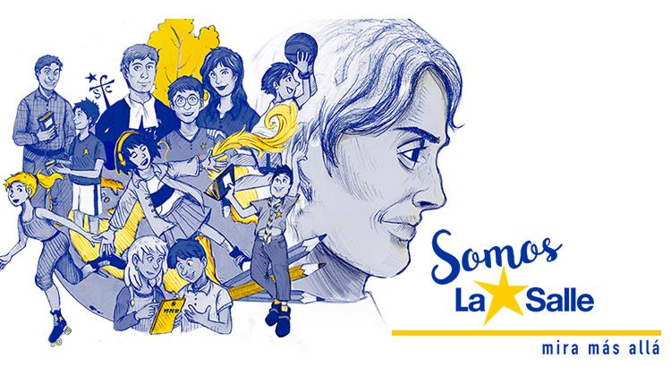 """Damos la bienvenida al curso 2018-19 con el lema """"Somos La Salle"""""""