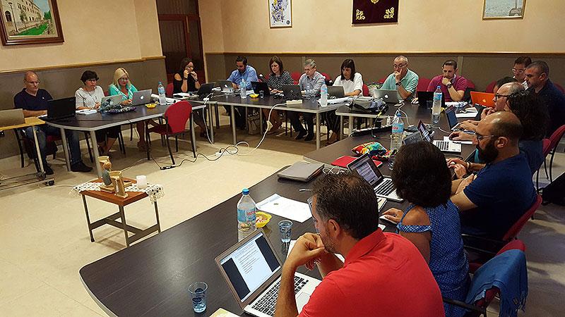 Los directores generales de las obras La Salle en Baleares, Teruel y Comunidad Valenciana se reúnen en Pont d'Inca (Mallorca) para iniciar formalmente el nuevo curso escolar