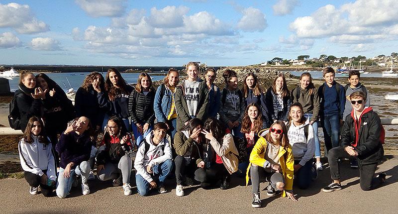 Crónica del intercambio 2018 de alumnos de La Salle Benicarló en Saint Pol de Léon