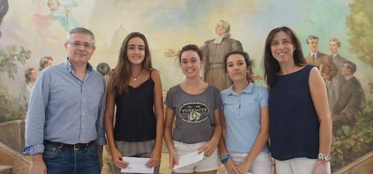 Tres alumnas del colegio La Salle Paterna obtienen el Premio Extraordinario de Educación Secundaria Obligatoria (ESO)