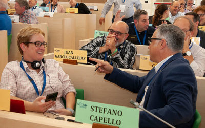 La AMEL de la RELEM en Roma reflexiona sobre los cambios en la estructura de La Salle en la Región
