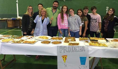 Gran èxit en el berenar solidari 2018  a benefici de l'ONG PROIDEBA al col·legi La Salle Inca