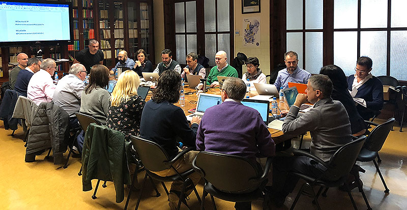 Los directores generales de las obras educativas y socioeducativas de La Salle en la Comunidad Valenciana, Baleares y Teruel se reúnen en Paterna