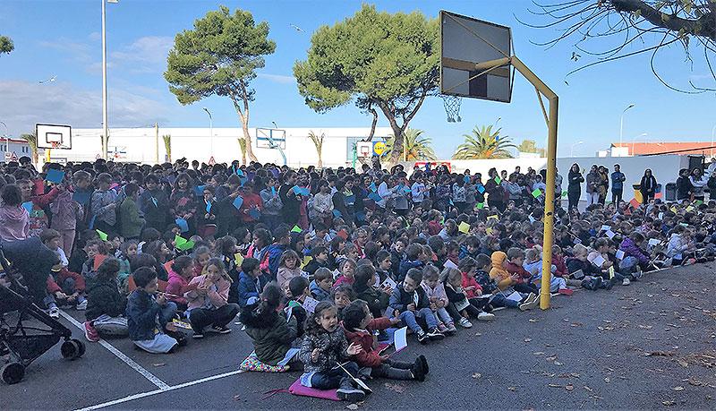 La Comunitat Educativa de La Salle Maó celebra El Dia Universal de l'Infant