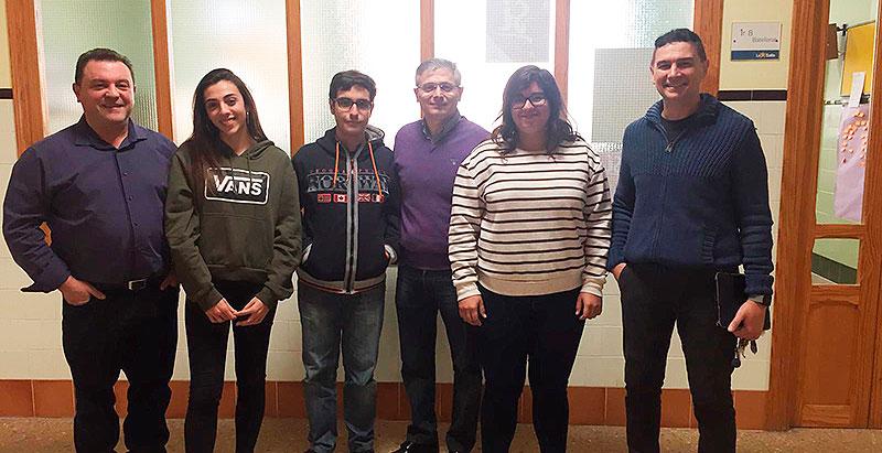 Tres alumnos de Bachillerato de La Salle Paterna seleccionados para la segunda fase de la Olimpiada de Química