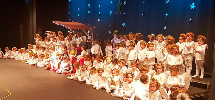 Los alumnos de Infantil de La Salle Palma celebran su tradicional festival de Navidad