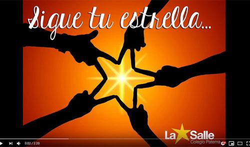 """El colegio La Salle Paterna participa en el concurso de villancicos de Cadena 100 """"Sigue tu estrella"""""""