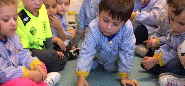 Els alumnes d'Infantil de La Salle Manacor practiquen les matemàtiques manipulatives