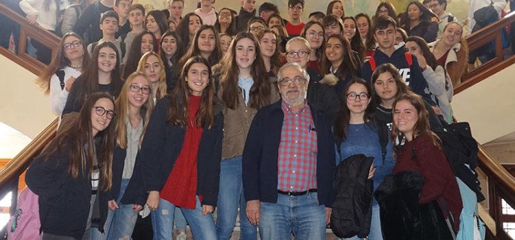Increíble y emocionante despedida al Hermano Ángel Fallado en el colegio La Salle Paterna por su jubilación