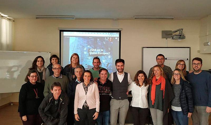La Conselleria d'Educació selecciona La Salle Inca per a participar en un simulacre  de Jornades Europarlamentàries en anglès