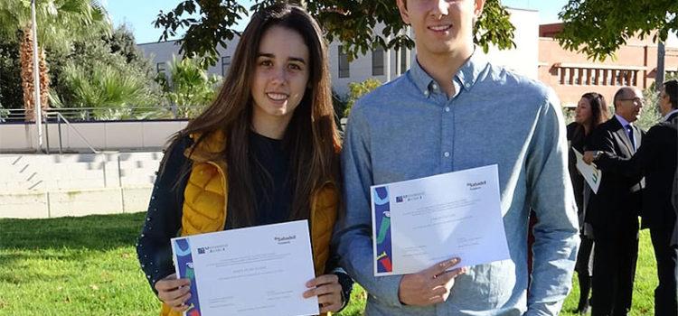 Dos antiguos alumnos de La Salle Benicarló, entre los premiados por La Fundación Sabadell y la UJI (Universitat Jaume I de Castelló)  con mejores notas de acceso a la universidad