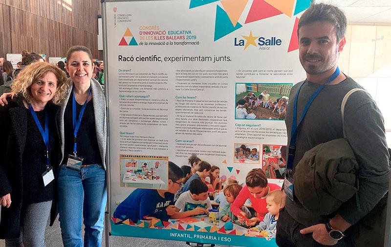 La Salle Alaior y La Salle Inca, protagonistas en el I Congreso de Innovación Educativa de las Islas Baleares