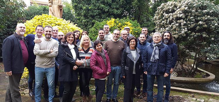 Pont d'Inca acoge la primera reunión de trabajo conjunta en 2019 de los directores generales de La Salle del Sector Valencia-Palma