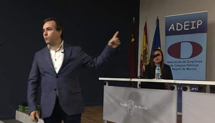 La Salle Alcoi, presente en las IV Jornadas sobre liderazgo e innovación dirigidas a directivos de Educación Primaria de la Región de Murcia