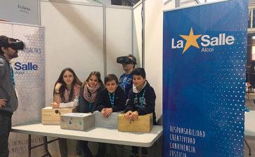 El Colegio La Salle Alcoi participa en el YOMO, The Youth Mobile festival, dentro del MWC (Mobile World Congress) de Barcelona