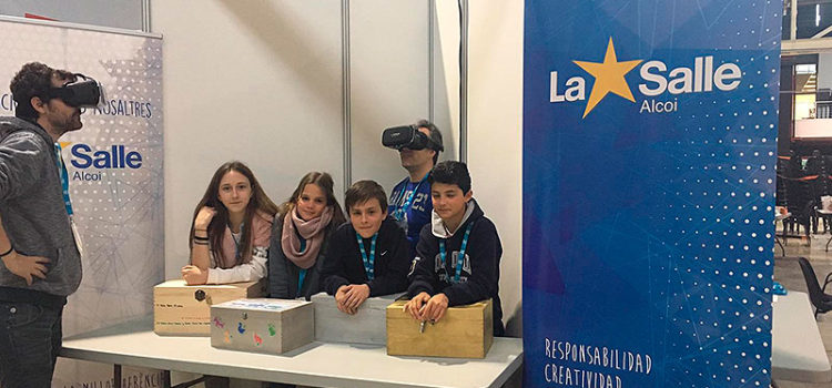 El Colegio La Salle Alcoi participa en el YOMO, The Youth Mobile festival, dentro del MWC (Mobile World Congress) de Barcelona