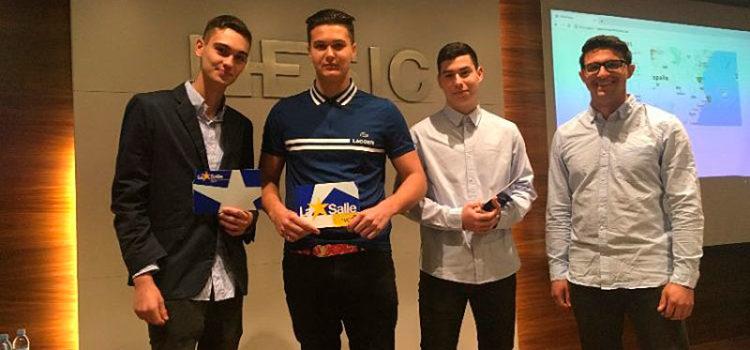 El proyecto de innovación 'A cuatro ruedas' de alumnos de la Escuela Profesional La Salle de Paterna consigue la 2º posición en el programa STARTinnova de Las Provincias