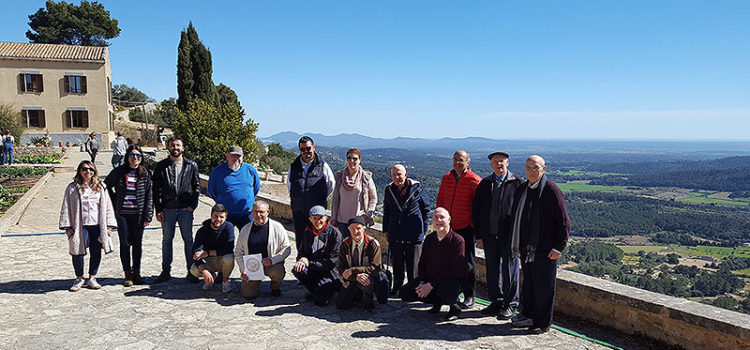 Encuentro 3t en la ermita de Sant Honorat, Mallorca