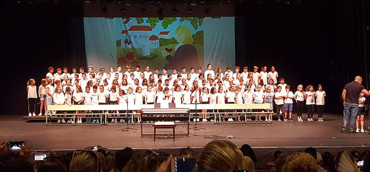Los colegios La Salle de Mallorca celebran un certamen musical conjunto de alumnos de 4º de Primaria