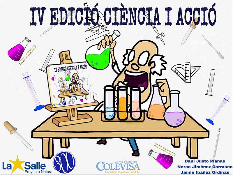 Equipos de alumnos  de los colegios La Salle Paterna, Inca y Palma ganan la 4ª edición del concurso Ciencia y Acción