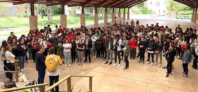 Més de 300 alumnes de 3r d'ESO dels col·legis La Salle de Mallorca participen en les Convivències Intercol·legials