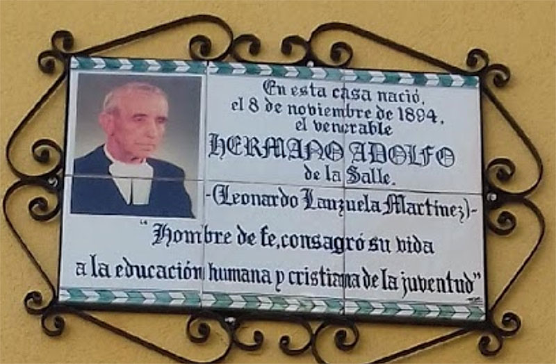 Homenaje al Venerable Hermano Adolfo Lanzuela en Teruel