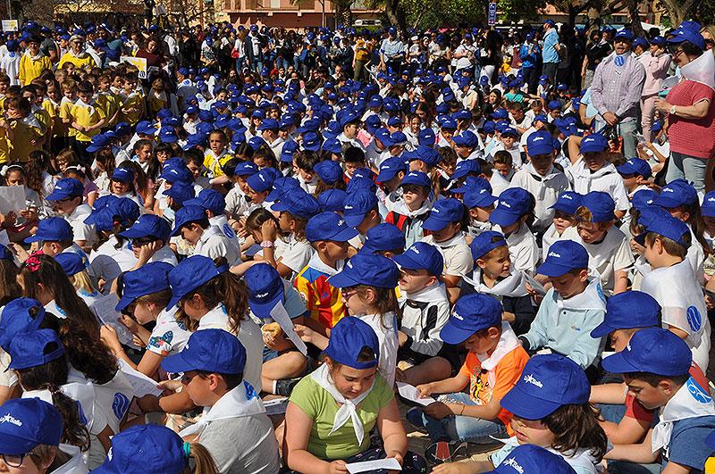 Más de 2.000 alumnos de centros La Salle en Paterna conmemoran el Tricentenario de la muerte San Juan Bautista