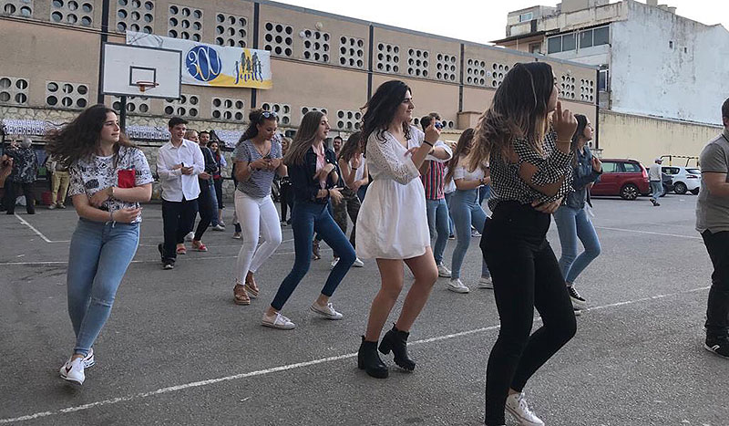 """Més d'un centenar d'antics alumnes es reuneixen  a les primeres """"Quintades Lasal·lianes"""" de La Salle Inca"""
