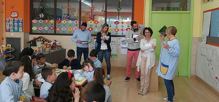 La Salle Alaior recibe la visita de un grupo de profesores para conocer su proyecto educativo