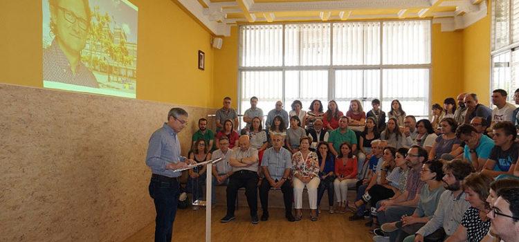 El colegio La Salle Paterna dedica el Ágora a su antiguo director Francisco Martínez