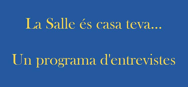 La Salle és casa teva, un programa d'entrevistes d'alumnes de 5è de Primària de La Salle Maó