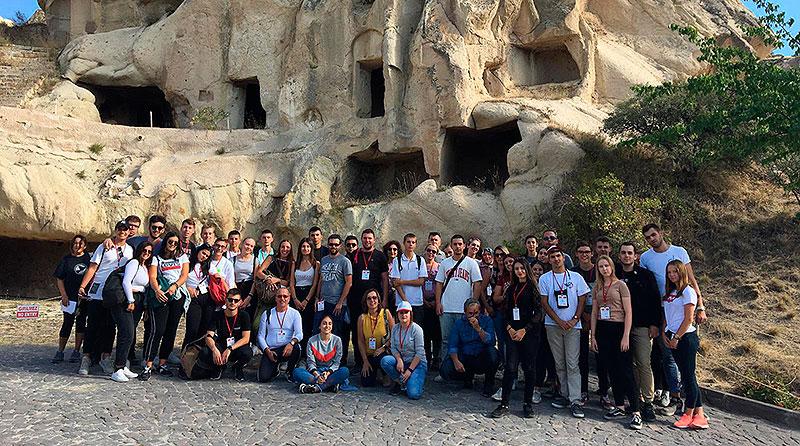 Alumnos de La Salle Benicarló visitan Turquía