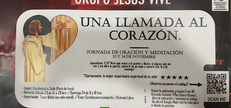 El grupo 'Jesús Vive' de la Renovació Carismática Católica visita la SAFA de Pont d'Inca