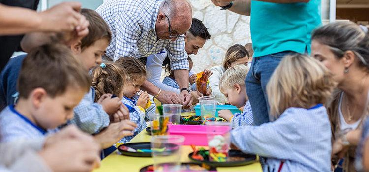 Taller de Rosaris a Educació Infantil de La Salle Palma