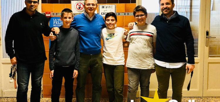 Tres alumnos del colegio La Salle Paterna, premios extraordinarios de Primaria