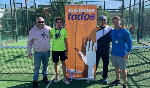 El colegio La Salle Palma acoge el III campeonato de pádel Fundación La Salle Acoge