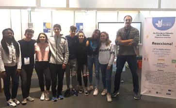 Alumnes de 3r d'ESO de La Salle Alaior participen en la  Fira de la Ciència i la Tècnica al recinte firal de Maó