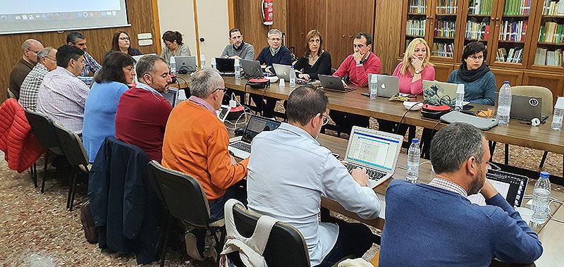 El Consejo de la MEL y los directores generales de las Obras del Sector Valencia-Palma de La Salle, reunidos para aprobar los prespuestos para el año 2020