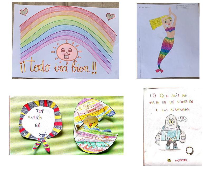 Los niños de Projecte Obert Paterna y Projecte Obert Llíria, ilusionados con la iniciativa de la Federació d'Escoltisme Valencià