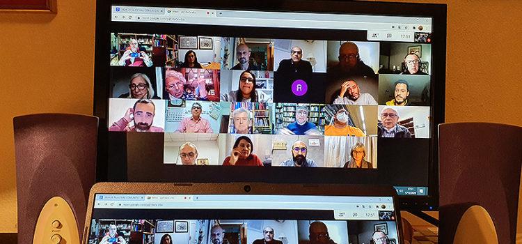 Encuentro de Asociados del sector Valencia-Palma de La Salle ARLEP por videoconferencia