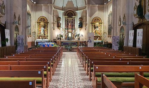 La capilla de La Salle Pont d'Inca acoge una exposición sobre el beato italiano Carlo Acutis