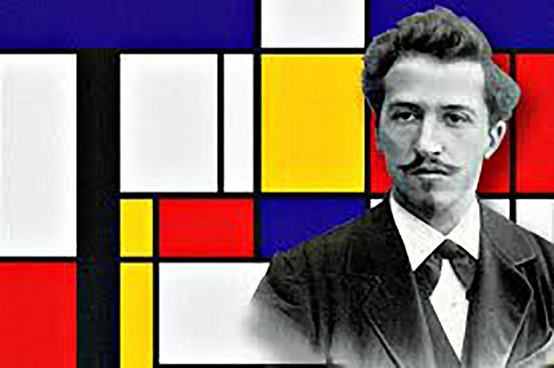 Els alumnes de Primària de La Salle Pont d'Inca coneixen el treball del pintor Piet Mondrian