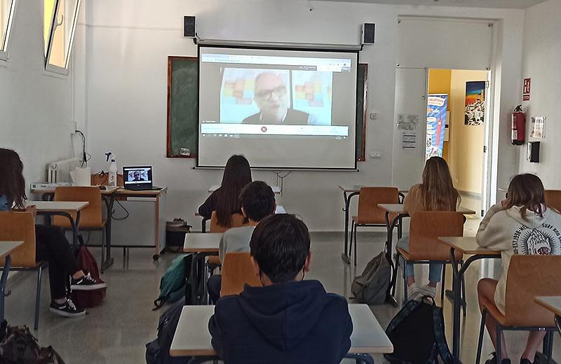 Les jornades solidaries de La Salle Alaior, dedicades als projectes de La Salle al món, compten amb la presència virtual del Germà Rafa Matas, Conseller General de La Salle a Roma