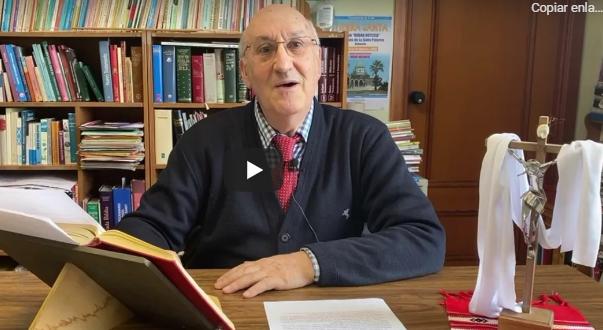 El Evangelio del domingo contado por el Hermano Gildo,  de la Comunidad de La Salle de Paterna