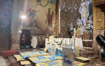 Fiesta en honor a San Juan Bautista de La Salle en el colegio La Salle de Paterna