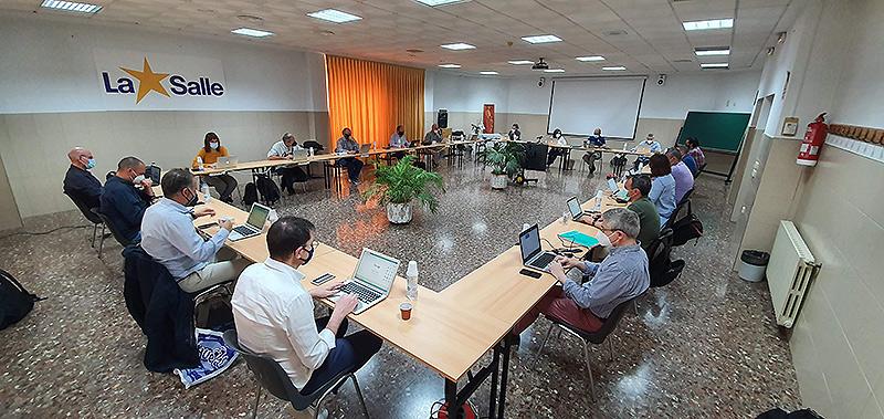 Reunión presencial del equipo de directores del Sector Valencia-Palma de La Salle en Llíria